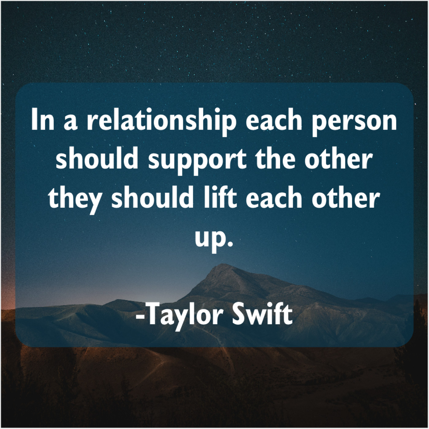 Taylor Swift In A Relationship Each Person Do You Love Quotes